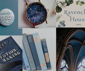 blue, hp, and ravenclaw image
