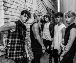 black and white, corbyn besson, and jack avery image