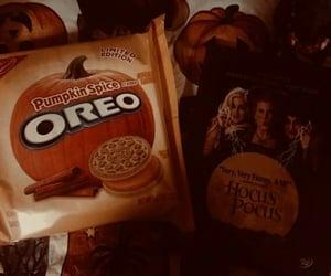 oreo, fall, and Halloween image