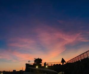 dusk, moment, and paris image