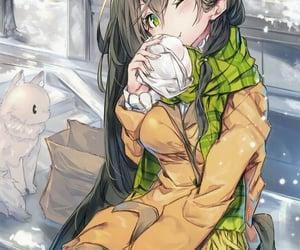anime, artgirl, and art image