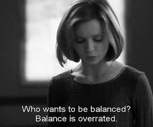 Who, balanced, and balance image