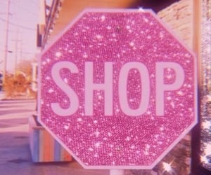 aesthetic, pink, and shop image