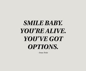 quotes, motivation, and smile image