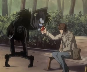 anime, death note, and light yagami image