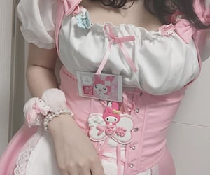 pink, kawaii, and my melody image