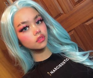 blue hair, pastel-goth, and dyed hair image
