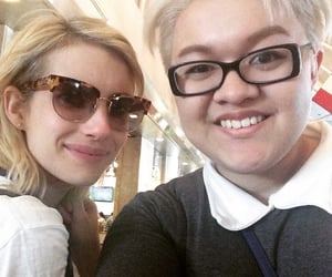 emma roberts, ahs, and american horror story image