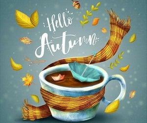 autumn, coffee, and coffee mug image