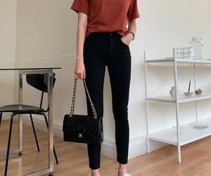 style, tee, and fashion image