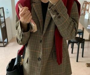 blazer, cardigan, and casual image