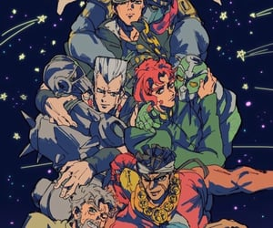 anime, kakyoin, and jean pierre polnareff image