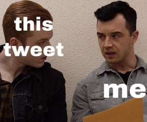 shameless, reaction pictures, and ian gallagher image