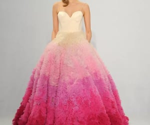 Christian Siriano, gown, and wedding image