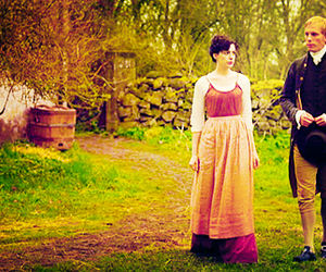 becoming jane, jane austen, and anne hatheway image