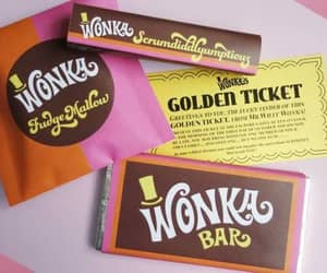 candy, chocolate, and wonka image