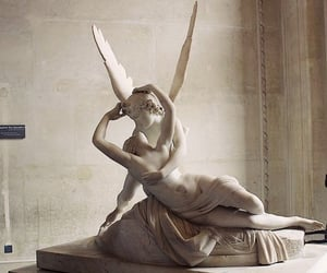 cupid, statues, and heartbreak image