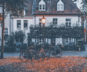 aesthetic, autumn, and house image