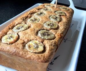 dessert, food, and bananacake image
