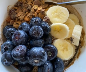 banana, blueberry, and granola image