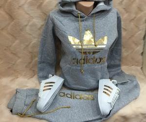 fashion, sweats, and adidas image