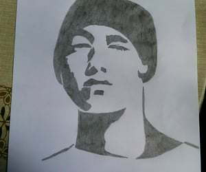 art, black and white, and marshall mathers image