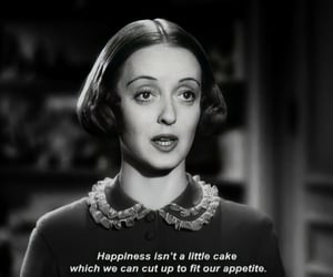 vintage, words, and Bette Davis image