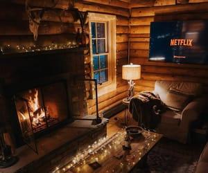 cozy, interior, and winter image