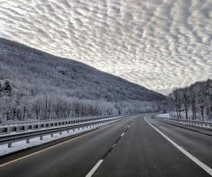 winter, cloud, and landscape image
