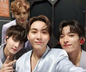 DK, seungkwan, and woozi image