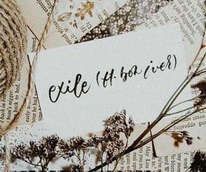 album, bon iver, and exile image