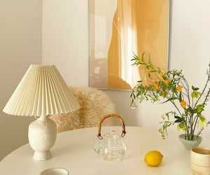 aesthetic, home decor, and lamp image