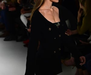 gigi hadid, model, and runway image