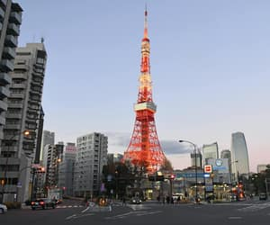 japan, tokyo tower, and tourism image