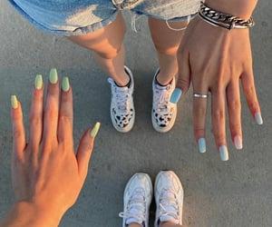 beautiful, tan, and nail nails image