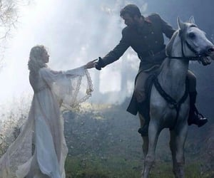 fairytale, horse, and princess image