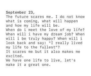 future, happy, and life image