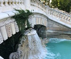 beautiful, dijon, and fontaine image