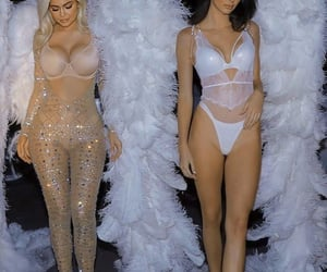 Angel Wings and kendall jenner image