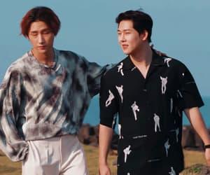 gif, i.m, and jooheon image