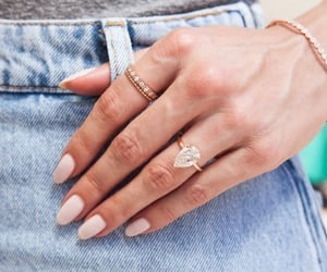 bracelet, jewelry, and nails image