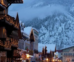 holidays, village, and family vacation image
