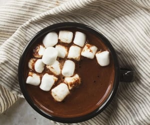 aesthetic, christmas, and marshmallows image