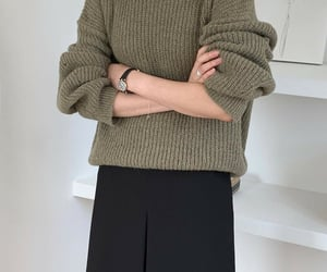 casual, knit, and soft image
