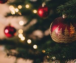 aesthetic, balls, and christmas image