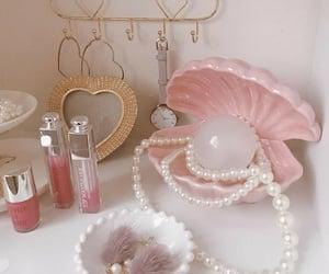 cosmetics, golden, and minimal image