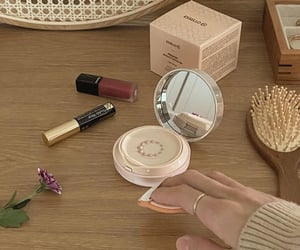 beauty, beige, and cream image