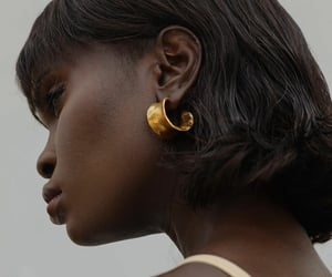 cool, earrings, and face image