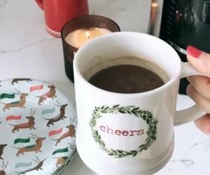 christmas, coffee, and mug image