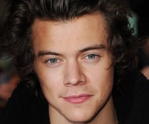 1d, Harry Styles, and one direction image
